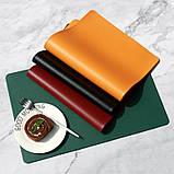 Підкладка на стіл, шкір зам з пвх. 5 кольорів. 60*100см, фото 7