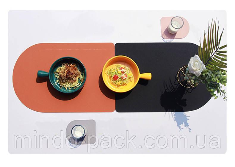 Підкладка на стіл, шкір зам з пвх. 5 кольорів. (30*40)