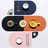 Підкладка на стіл, шкір зам з пвх. 5 кольорів. (30*40), фото 8