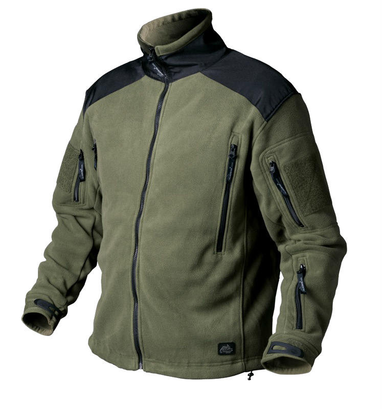 Тактическая куртка Helikon LIBERTY Double Fleece - Oliva&Black
