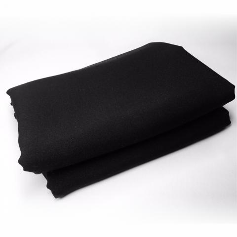 Студийный фон для фото  (Черный тканевый 2.0 м.×3.0 м.)