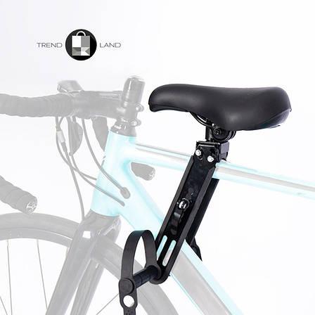Детское велосипедное кресло на раму | Велокресло детское RideBiker K-110, фото 2