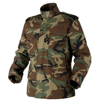 Куртка военная Helikon M65 - US Woodland