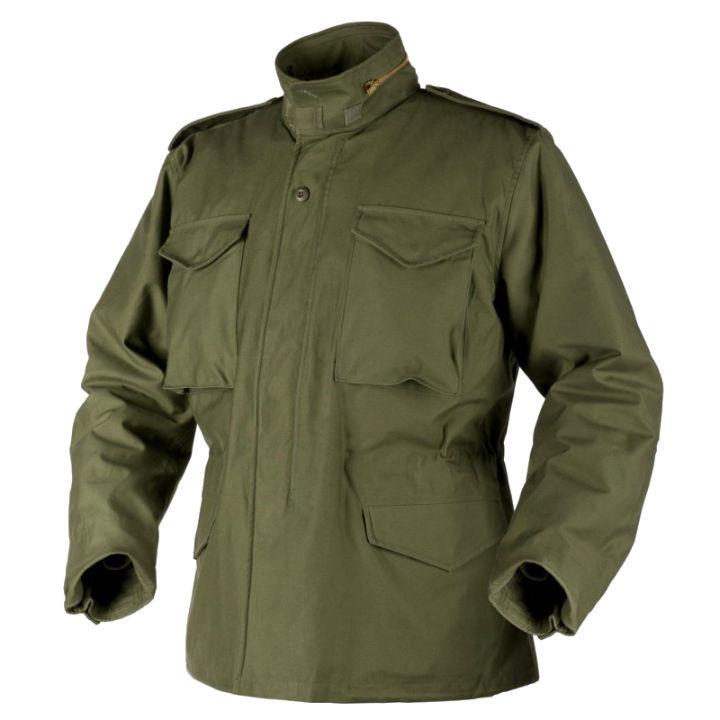 Куртка военная Helikon M65 NiCo Sateen - Olive