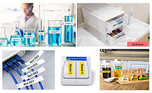 Флуоресцентна стрічка для принтера етикеток Epson LabelWorks LK4YBF Fluor Blk/Yell 12/5 (C53S654010), фото 3