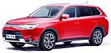 Защита картера двигателя и кпп Mitsubishi Outlander  2012-, фото 7