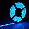 Светодиодная лента 3528 на 60 диодов голубой/синий