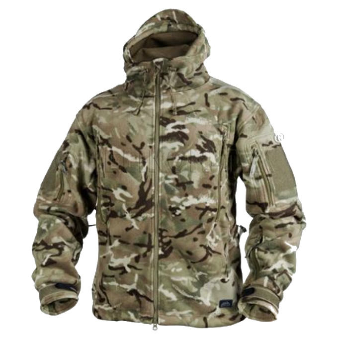 Тактическая куртка Helikon PATRIOT Double Fleece - MP Camo