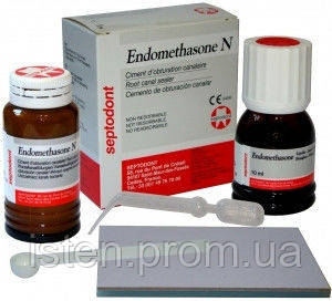 ENDOMETHASONE N | НАБІР Ендометозон Н 14 гр.+10 мл., Septodont Франція