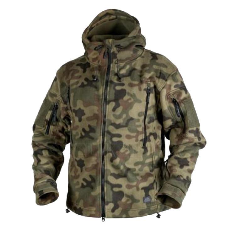 Тактическая куртка Helikon PATRIOT Double Fleece - PL Woodland