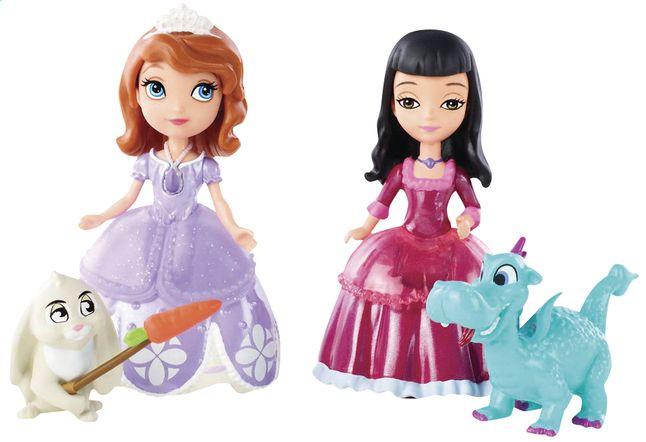 Софія Прекрасна - Ляльковий набір СОФІЯ і Вів'єн з улюбленцями Disney ( BDK55 )