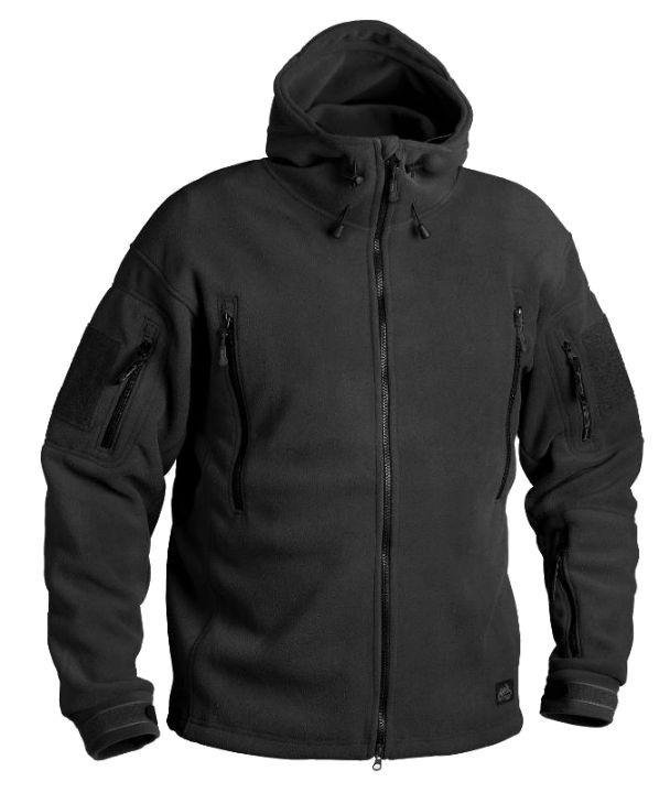 Тактическая куртка Helikon PATRIOT Double Fleece - Black