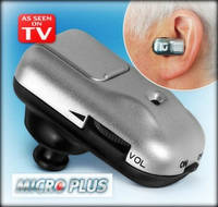 Слуховой аппарат Micro Plus, аппарат для слуха Микро Плюс