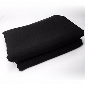 Студійний фон для фото, фотофон (тканинний Чорний 150 див.×200 см)