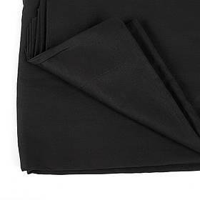 Фон для фото, фотофон тканинний Чорний (150 див.×300 див.)