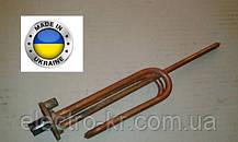 Тэн для бойлера Аристон, Атлантик 1,5 кВт гнутый медный  на фланце Ø48мм, с местом под анод М6 Украина