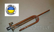 Тэн для бойлера Аристон, Атлантик 2 кВт гнутый медный  на фланце Ø48мм, с местом под анод М6 Украина
