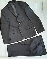 Шкільний костюм класичний підлітковий для хлопчика 8-12 років,колір чорний