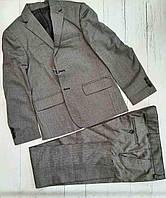 Шкільний костюм класичний підлітковий для хлопчика 8-12 років,колір сірий