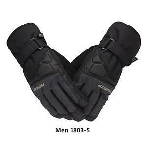 Мужские горнолыжные перчатки High Experience черные