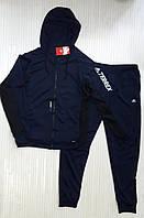 Спортивный мужской костюм, темно-синий