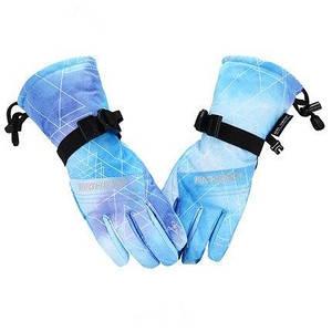 Дитячі гірськолижні рукавички High Experience блакитний