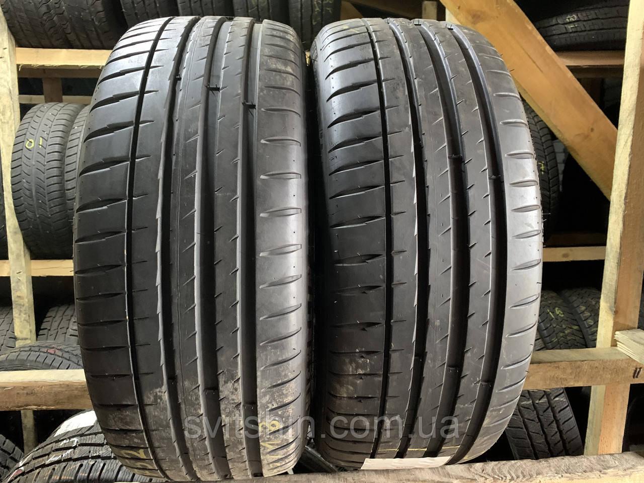 Літні шини 225/45R18 Michelin Pilot Sport 4 ZP (РАНФЛЕТ) 6.5мм R18