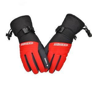Дитячі гірськолижні рукавички High Experience рожеві