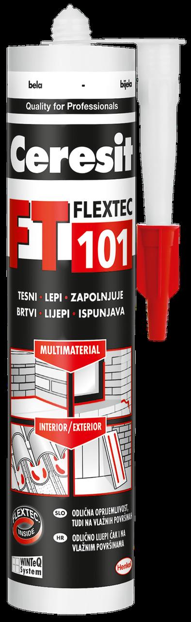 Ceresit FT101 Універсальний поліуретановий герметик-клей, 280мл