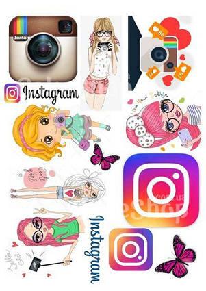 Вафельна картинка Instagram
