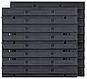 Панель перфорированная с лотками 400Х165Х400 мм Kistenberg KOR3 (Польша), фото 3