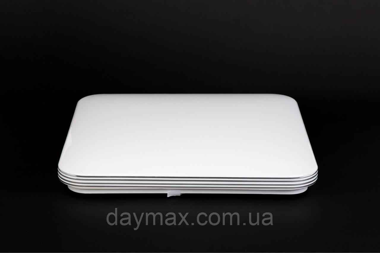Светодиодный светильник ULM Smart Light, Квадрат 90W-2900-6000K белый матовый