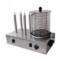 Аппарат для производства хот-догов Stalgast настольный штыревой 4 штыря в кафе бар
