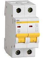 Автоматичний вимикач ВА47-29 2Р 20А 4,5 кА х-ка C ІЕК