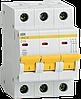 Автоматический выключатель ВА47-29 3Р 20А 4,5кА х-ка C ИЭК