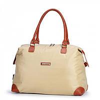Женская сумка из болоньи бежевый
