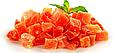 Папайя кубики натуральні 200г Таїланд, цукати папайї натуральні, сухофрукти з папайї, фото 2