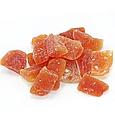 Папайя кубики натуральні 200г Таїланд, цукати папайї натуральні, сухофрукти з папайї, фото 3
