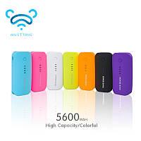 Внешний аккумулятор PowerBank зарядное для смартфонов 5600 mah