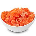 Папайя кубики натуральні 200г Таїланд, цукати папайї натуральні, сухофрукти з папайї, фото 4