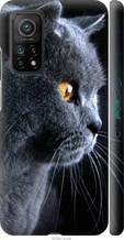 """Чохол на Xiaomi Mi 10T Красивий кіт """"3038c-2096-2448"""""""