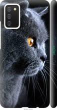 "Чохол на Samsung Galaxy A02s A025F Красивий кіт ""3038c-2203-2448"""
