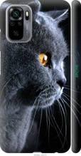 "Чохол на Xiaomi Redmi Note 10 Красивий кіт ""3038c-2277-2448"""