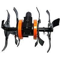 Насадка-культиватор для мотокоси, d28 мм, 9 шліцов, FORTE YK-W009-28 (108936)