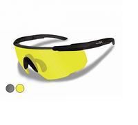 Очки Wiley X SABER ADV. Smoke/Yellow Matte w/Bag Black