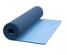 Коврик для фитнеса с чехлом Newt TPE Eco 183 х 61 х 0.6 см Сине-голубой