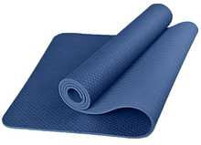 Коврик для фитнеса с чехлом Newt TPE Eco 183 х 61 х 0.6 см Синий