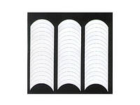 Трафарет для французского маникюра pl-01, полоски для френча yre