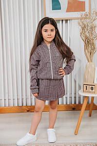 Трикотажний костюм для дівчинки Емілі. Розмір 92-116