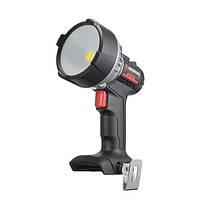 Фонарь аккумуляторный 20 В, LED, 10 Вт, 500/1000 лм, без ЗУ и АКБ INTERTOOL WT-0348